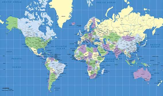 planisphère symbolisme du monde