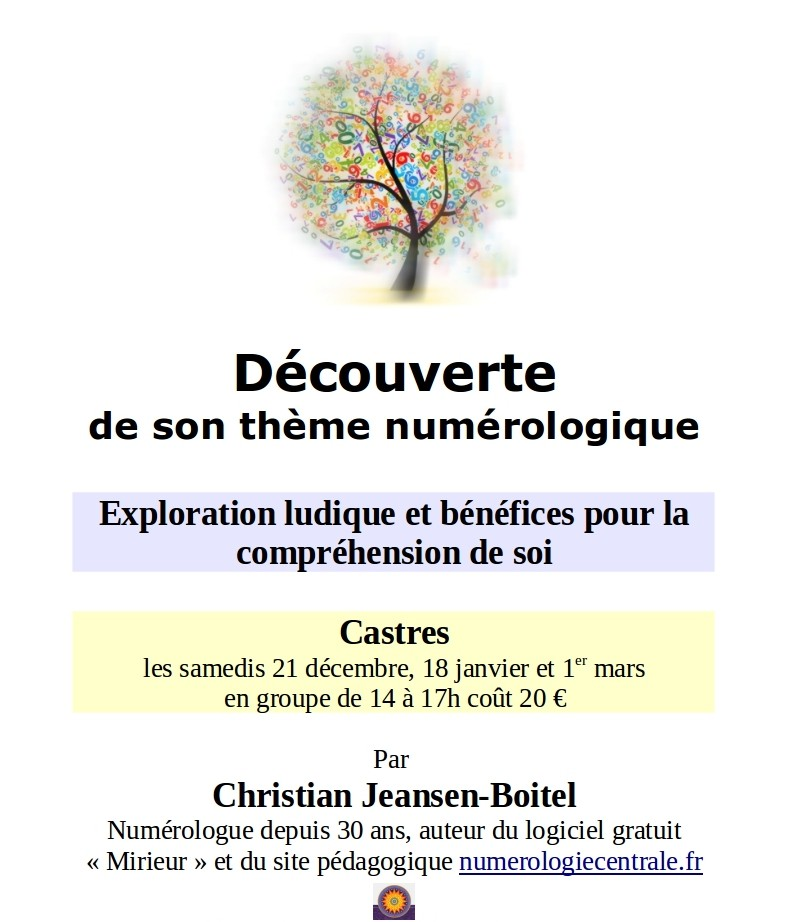 decouverte theme numerologique